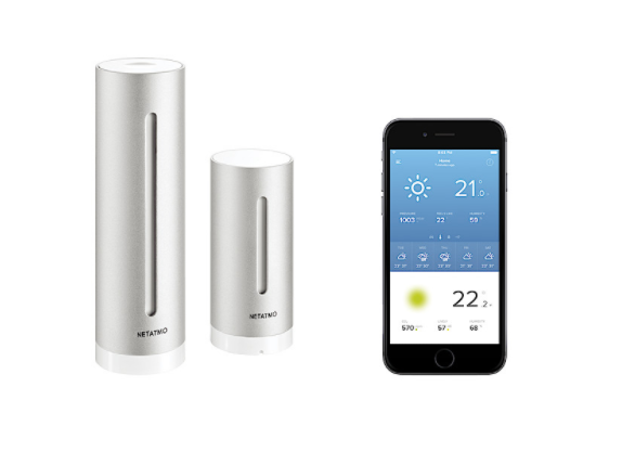 Proffsig: Smart väderstation, Netatmo