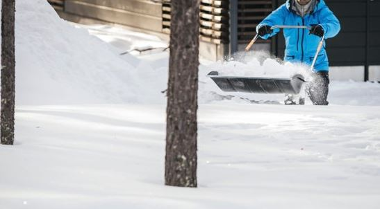 Test av snöslädar